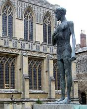 Statue of St Edmund